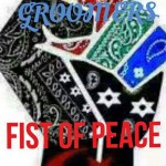 Street Groomers Fist of Peace Logo